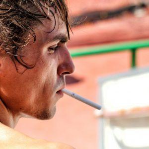 roken jouw work-out beïnvloed