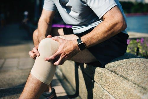 blessure knie
