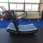 curved treadmill platinum